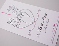 The Hunt is Over: My Wedding Print Work