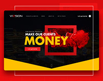Vizsion Las Vegas Website Redesign