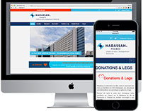 Hadassah France :: website