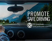 "GC Incentives ""Promote Safe Driving"" social media post."