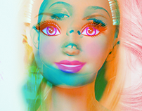 Barbie / Double Exposure