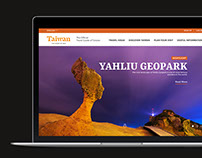 VISIT-TAIWAN Website Redesign concept