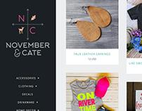 November & Cate Logo