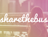 Share The Bus - Web Design
