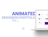 Animated Designers Portfolio