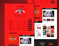 Website - Desvio para o vermelho