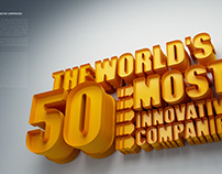 Fast Company / World's 50 Most Innovative Companies