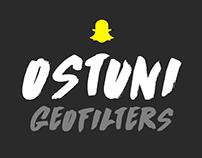 Snapchat geofilters - Ostuni