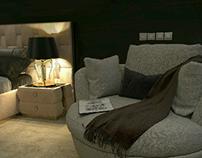 Design a bedroom hotel