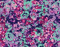 Summer Floral Smudge