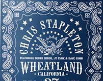 Chris Stapleton Wheatland California