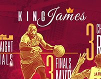 LeBron James Panorama Creative