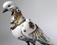 Pigeon Scrap Sculptures