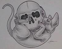 Ilustração manual (autoral)