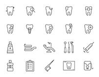 20 Dental Vector Icons