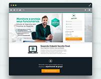 Kaspersky - Landing Page