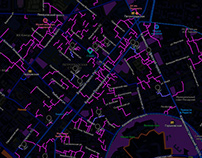 Карта проходных дворов Петроградки