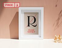 Free Paper Frame Mockup