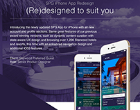 SPG iPhone App Redesign