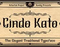 Cindo Kato Typeface