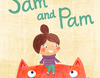 """Sam and Pam"" book cover"