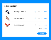 Daily UI | #058 | Shopping Cart