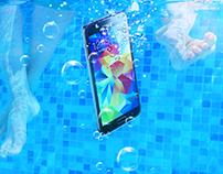 Samsung Galaxy S5 social content