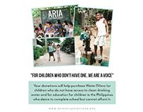 ARIA Children's Fund: Donation Box
