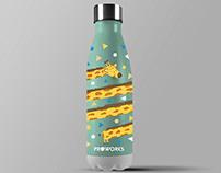 Water Bottle Design: ProWorks Bottles