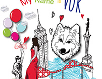 My Name Is Vuk Childrens' Illustration Book