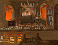 Backgrounds for Noor Mula film 'Bitter Critter'