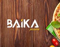 Baika Pizzaria - Branding