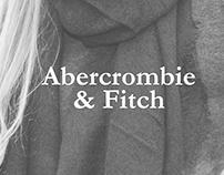 app design & advertisement | abercrombie & fitch