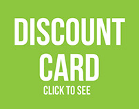 Discount Card for Green clinics