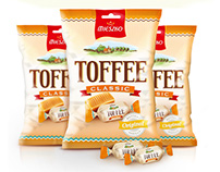 TOFFEE CLASSIC - branding, packaging
