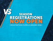 VS Gaming League Registrations 2018