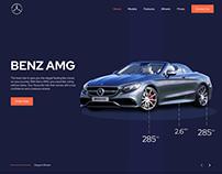 Benz landing Page