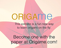 ORIGAme.com (How To Website)