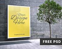 Free OutDoor Advertising Mockup #1