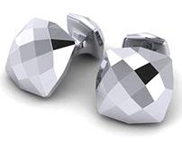 Bespoke Cufflinks for Alexander Davies - CAD Design