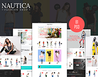Nautica - Fashion eCommerce PSD Template