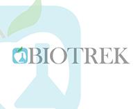 BioTrek | Rebranding | Print Based