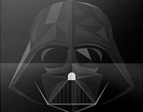 Darth Vader - Polygon Illustration