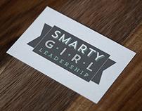 Smarty Girl Leadership Logo and Button Design