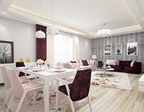 Flat Interior Design / Livingroom Design