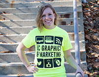 University Center Graphics and Marketing Shirt