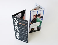 Mun tarina -esite / broshure