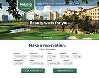 Petunia Golf Resort Website