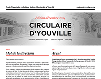Circulaire d'Youville, December 2014 edition