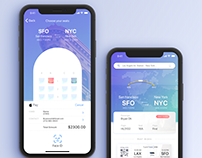 iPhone X - Apple pay & Face ID/hyperloop one Mobile App